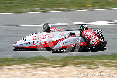 Motorcycle sidecar Editorial Stock Photo