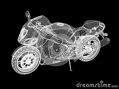 Motorcycle skeleton