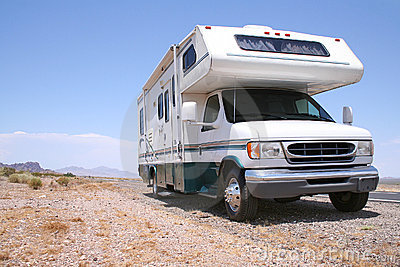 Motorhome RV Out West