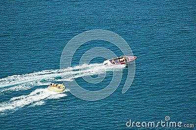Motorised boat