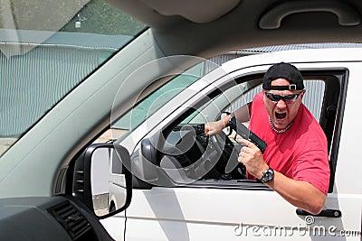 Motorista agressivo