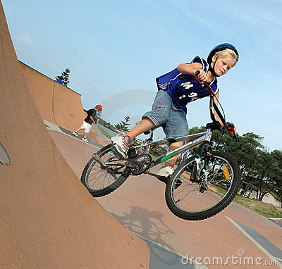 Motorista de BMX