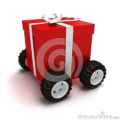 Free Motorized Gift Box Stock Images - 3139034