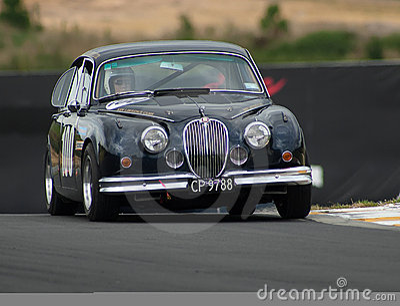 Motorsport 1962 Jaguar MkII Editorial Stock Photo