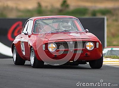 Motorsport 1969 Alfa Romeo Guilia GTA Editorial Photography