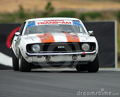 Motorsport 1969 Camaro RS Editorial Photo
