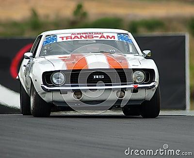 Motorsport 1969 Camaro RS Editorial Photo