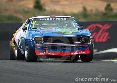 Motorsport 1973 AMC Javelin AMX Editorial Photography