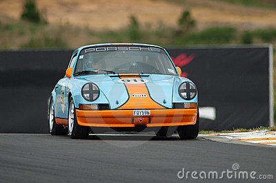 Motorsport 1973 Porsche 911 Gulf Editorial Image