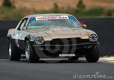 Motorsport 1974 Camaro Z28 Editorial Photo