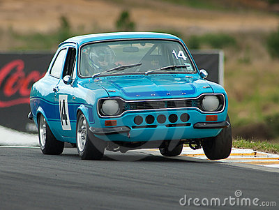 Motorsport 1974 Ford Escort Mk1 RS2000 Editorial Photo