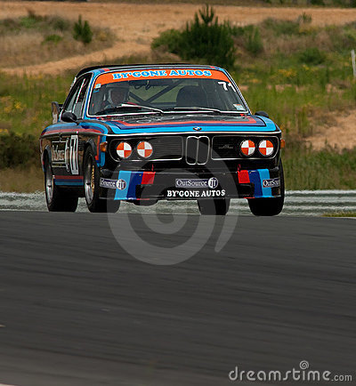 Motorsport BMW CSI 3.0 Editorial Photography