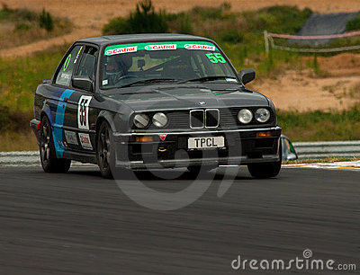 Motorsport BMW E30 320i Editorial Photography