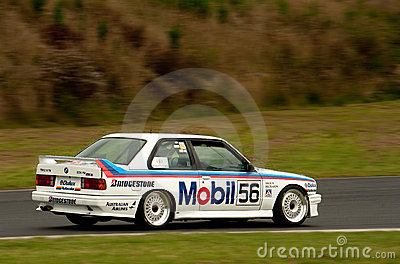 Motorsport BMW E30 Peter Brock Mobil M3 Fotografia Editoriale