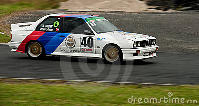 Motorsport BMW E30 Warsteiner M3 Editorial Photo