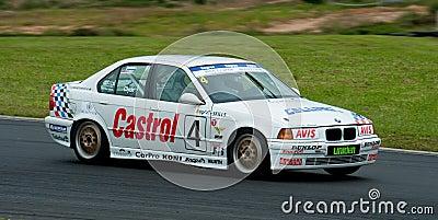 Motorsport BMW E34 5351 Editorial Stock Photo