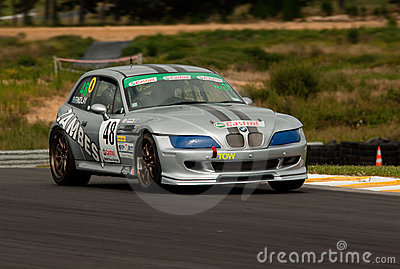 Motorsport BMW Z3M Coupe Editorial Stock Image