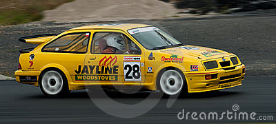 Motorsport Ford Sierra Cosworth Turbo Editorial Stock Image