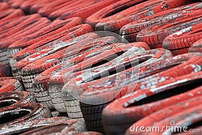 Motorsport Tyre Wall