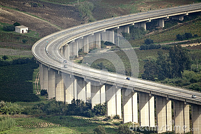 Motorway curve