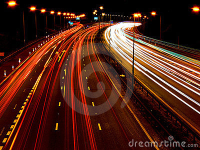 Motorway / highway night