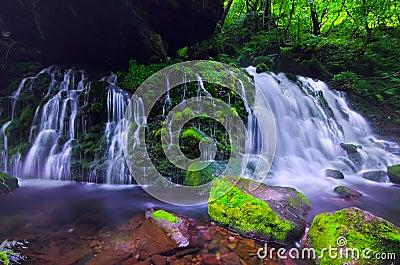 Mototakihukuryuusui Falls, Japan.