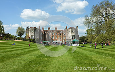 Mottisfont Abbey House, Hampshire, England Editorial Stock Image