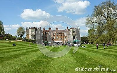 Mottisfont Abbey House, Hampshire, England Editorial Stock Image