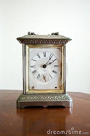 Mottled classic clock