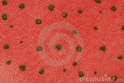 Mottled fabric design