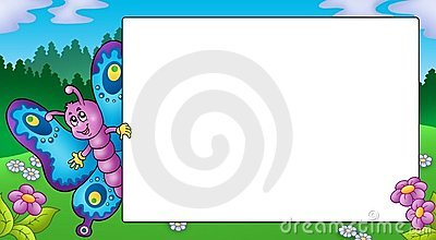 Motyli śliczny ramowy target1277_0_