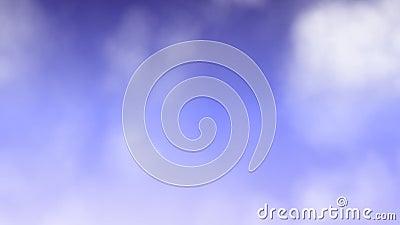 Mouche loopable sans couture de nuage  clips vidéos