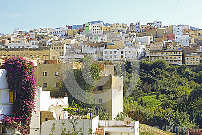 Moulay Idriss is the most holy town in Morocco.
