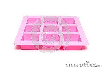 Moule de silicone pour le savon sur le fond blanc photo stock image 67568324 - Comment enlever le silicone ...