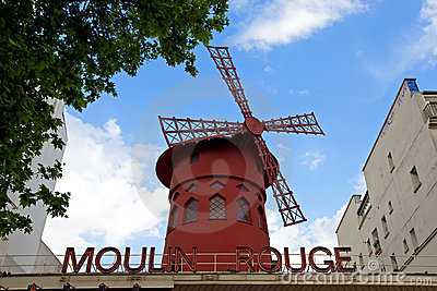 Moulin Rouge Editorial Stock Image