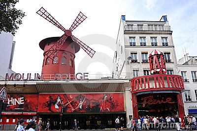 Moulin Rouge Editorial Photo