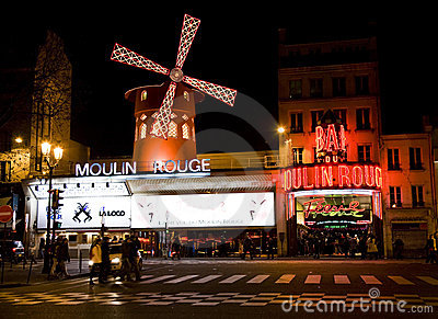 The moulin rouge pitch download