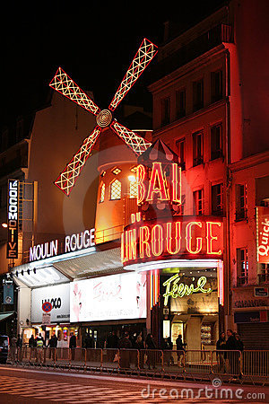 Moulin Rouge, Paris Editorial Stock Photo