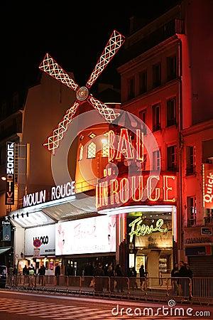 Free Moulin Rouge, Paris Stock Photos - 6704083