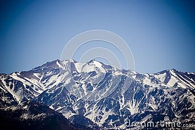 Mount Aconcagua in Mendoza, Ar
