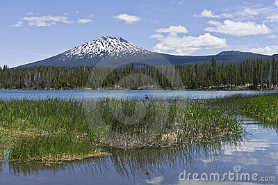 Mount Bachelor in Central Oregon