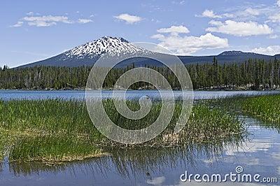 Mount Bachelor in Central Oregon