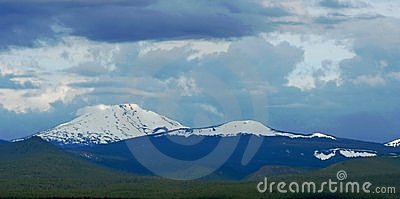 Mount Bachelor and Tumalo Butte