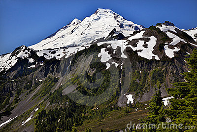 Mount Baker from Artist Point Washington State