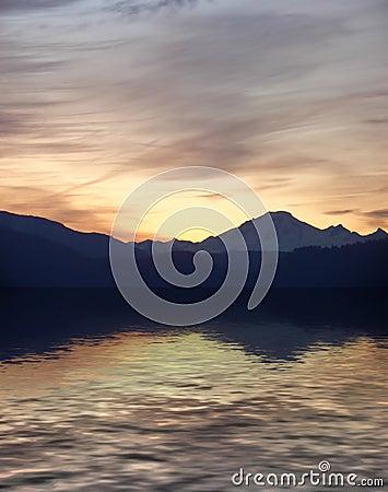 Mount Baker Sunrise