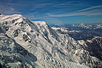 Mount blanc massif