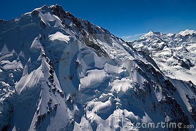 Mount Cook aerial photo - New Zealand