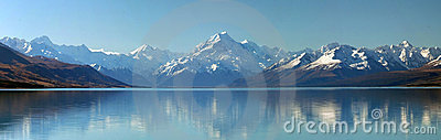 Mount Cook panorama, New Zealand