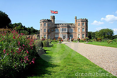 Mount Edgcumbe castle, Plymouth, UK