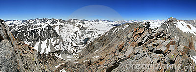 Mount Emerson panorama